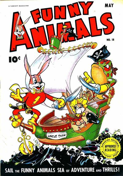 Cover for Fawcett's Funny Animals (Fawcett, 1942 series) #18