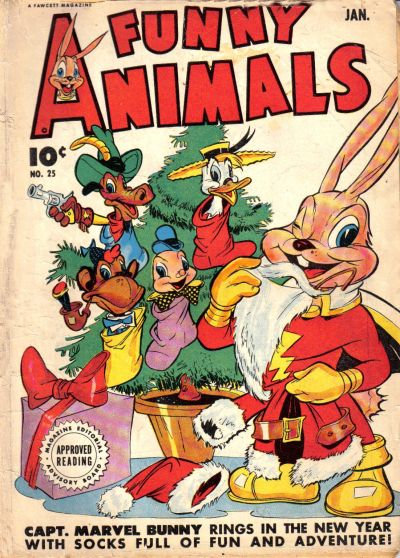 Cover for Fawcett's Funny Animals (Fawcett, 1942 series) #25