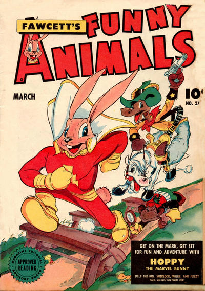 Cover for Fawcett's Funny Animals (Fawcett, 1942 series) #27