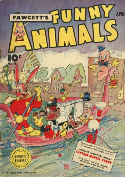 Cover for Fawcett's Funny Animals (Fawcett, 1942 series) #28