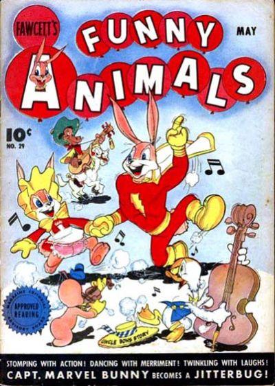 Cover for Fawcett's Funny Animals (Fawcett, 1942 series) #29