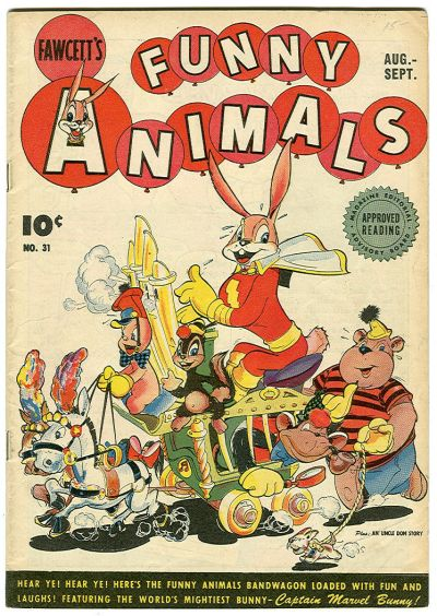 Cover for Fawcett's Funny Animals (Fawcett, 1942 series) #31