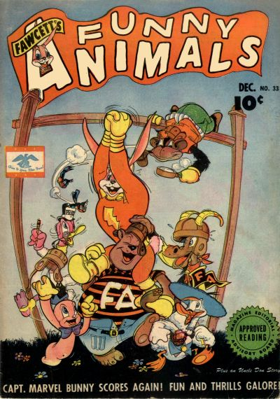 Cover for Fawcett's Funny Animals (Fawcett, 1942 series) #33