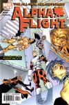 Cover for Alpha Flight (Marvel, 2004 series) #4
