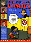 Cover for Popular Comics (Dell, 1936 series) #20