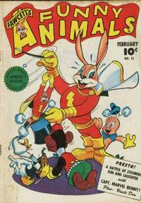 Cover Thumbnail for Fawcett's Funny Animals (Fawcett, 1942 series) #35
