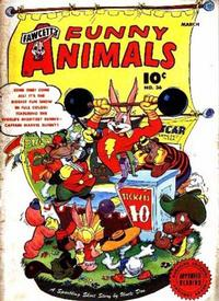 Cover Thumbnail for Fawcett's Funny Animals (Fawcett, 1942 series) #36
