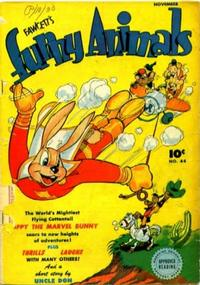 Cover Thumbnail for Fawcett's Funny Animals (Fawcett, 1942 series) #44