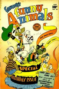 Cover Thumbnail for Fawcett's Funny Animals (Fawcett, 1942 series) #50