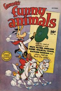Cover Thumbnail for Fawcett's Funny Animals (Fawcett, 1942 series) #54