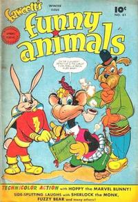 Cover Thumbnail for Fawcett's Funny Animals (Fawcett, 1942 series) #61