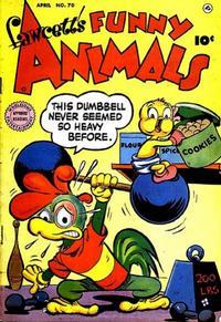 Cover Thumbnail for Fawcett's Funny Animals (Fawcett, 1942 series) #70