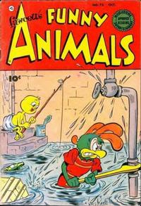 Cover Thumbnail for Fawcett's Funny Animals (Fawcett, 1942 series) #73