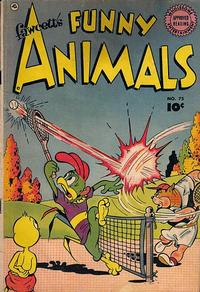 Cover Thumbnail for Fawcett's Funny Animals (Fawcett, 1942 series) #75