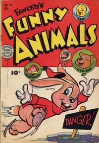 Cover Thumbnail for Fawcett's Funny Animals (Fawcett, 1942 series) #78