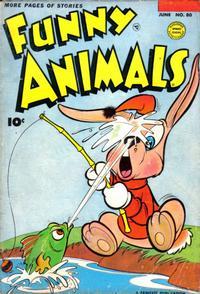 Cover Thumbnail for Fawcett's Funny Animals (Fawcett, 1942 series) #80