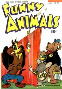 Cover Thumbnail for Fawcett's Funny Animals (Fawcett, 1942 series) #83