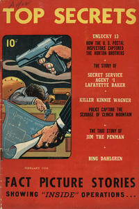 Cover Thumbnail for Top Secrets (Street and Smith, 1947 series) #v1#2