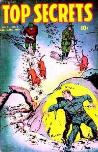 Cover Thumbnail for Top Secrets (Street and Smith, 1947 series) #v1#8