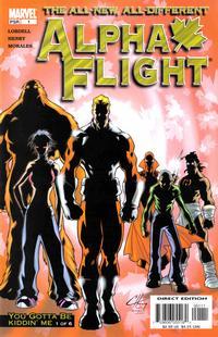 Cover for Alpha Flight (Marvel, 2004 series) #1