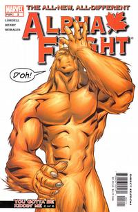 Cover Thumbnail for Alpha Flight (Marvel, 2004 series) #2