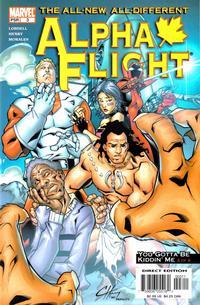 Cover Thumbnail for Alpha Flight (Marvel, 2004 series) #3
