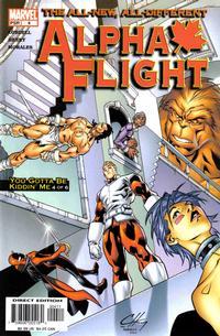 Cover Thumbnail for Alpha Flight (Marvel, 2004 series) #4