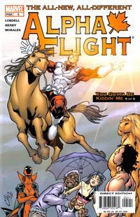 Cover Thumbnail for Alpha Flight (Marvel, 2004 series) #5