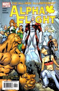 Cover Thumbnail for Alpha Flight (Marvel, 2004 series) #6