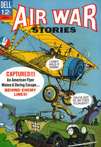 Cover Thumbnail for Air War Stories (Dell, 1964 series) #5
