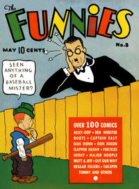 Cover Thumbnail for The Funnies (Dell, 1936 series) #8
