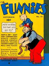 Cover Thumbnail for The Funnies (Dell, 1936 series) #12
