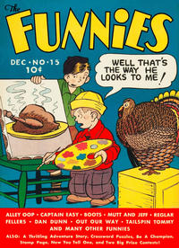 Cover Thumbnail for The Funnies (Dell, 1936 series) #15