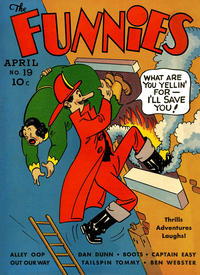 Cover Thumbnail for The Funnies (Dell, 1936 series) #19