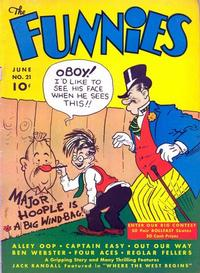 Cover Thumbnail for The Funnies (Dell, 1936 series) #21