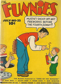 Cover Thumbnail for The Funnies (Dell, 1936 series) #22