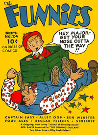 Cover Thumbnail for The Funnies (Dell, 1936 series) #24