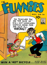 Cover Thumbnail for The Funnies (Dell, 1936 series) #26