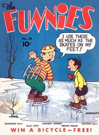 Cover Thumbnail for The Funnies (Dell, 1936 series) #28