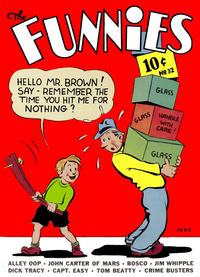Cover Thumbnail for The Funnies (Dell, 1936 series) #32