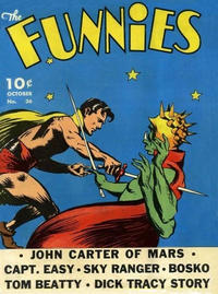Cover Thumbnail for The Funnies (Dell, 1936 series) #36