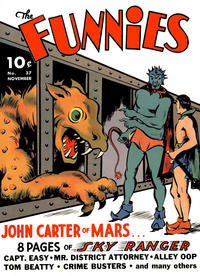 Cover Thumbnail for The Funnies (Dell, 1936 series) #37