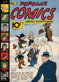 Cover Thumbnail for Popular Comics (Dell, 1936 series) #1