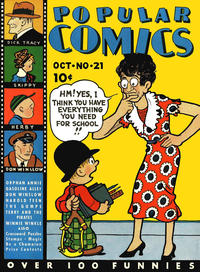 Cover Thumbnail for Popular Comics (Dell, 1936 series) #21
