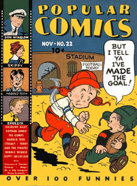 Cover Thumbnail for Popular Comics (Dell, 1936 series) #22