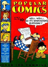 Cover Thumbnail for Popular Comics (Dell, 1936 series) #27