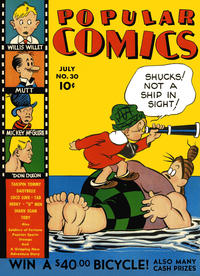 Cover Thumbnail for Popular Comics (Dell, 1936 series) #30