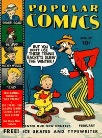 Cover Thumbnail for Popular Comics (Dell, 1936 series) #37