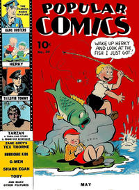 Cover Thumbnail for Popular Comics (Dell, 1936 series) #39