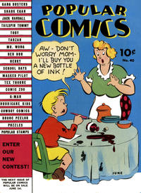 Cover Thumbnail for Popular Comics (Dell, 1936 series) #40
